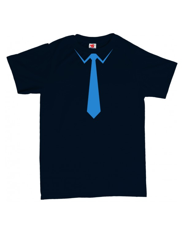 Tričko Kravata s límečkem