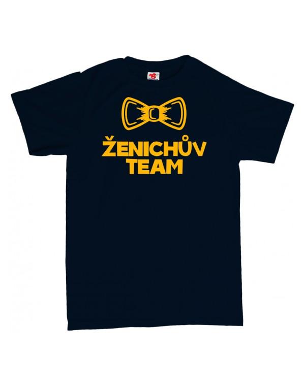 Tričko Ženichův team