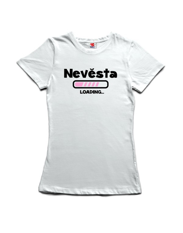 Tričko Nevěsta - Loading ...