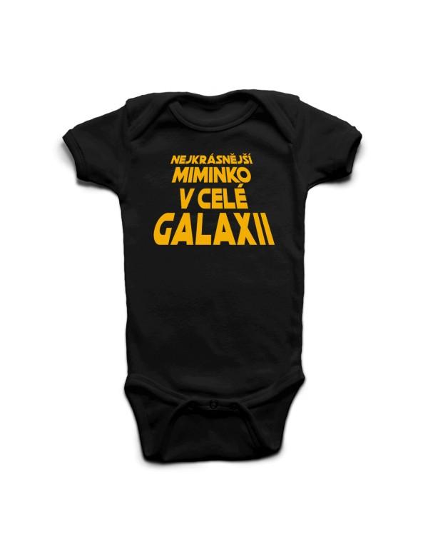 Dětské body - Nekrásnější miminko v celé galaxii - Star Wars