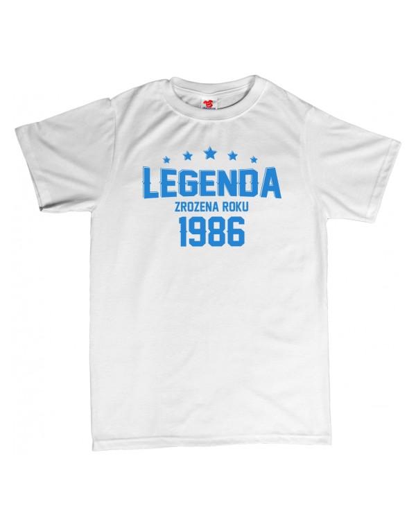Tričko Legenda zrozena roku...