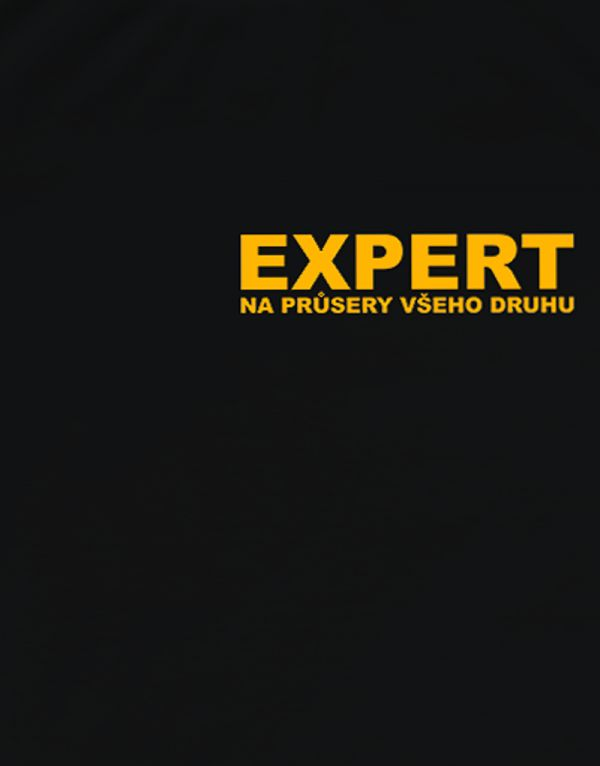 Tričko Expert na průsery