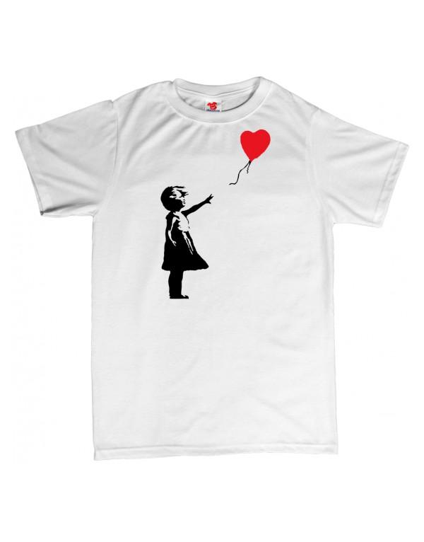 Tričko Banksy - Dívka s balónem