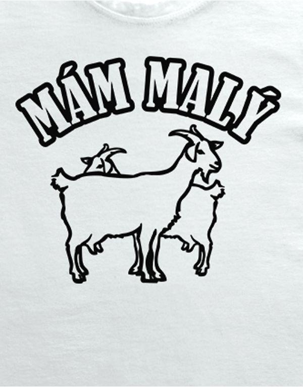 Tričko Mám malý kozy