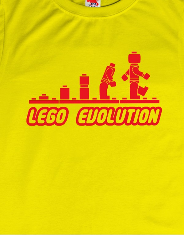 Tričko Lego Evolution