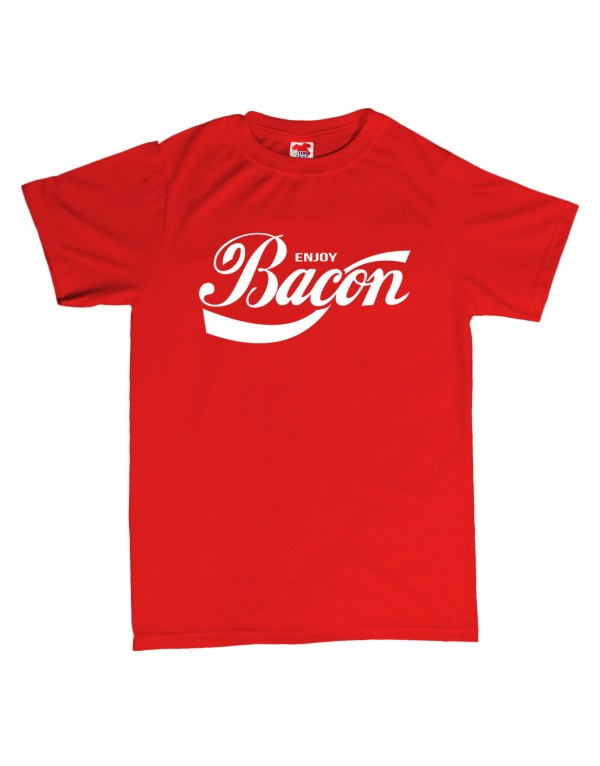 Tričko Bacon - Coca-Cola