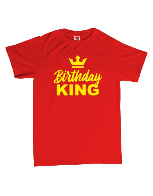 Tričko Birthday King
