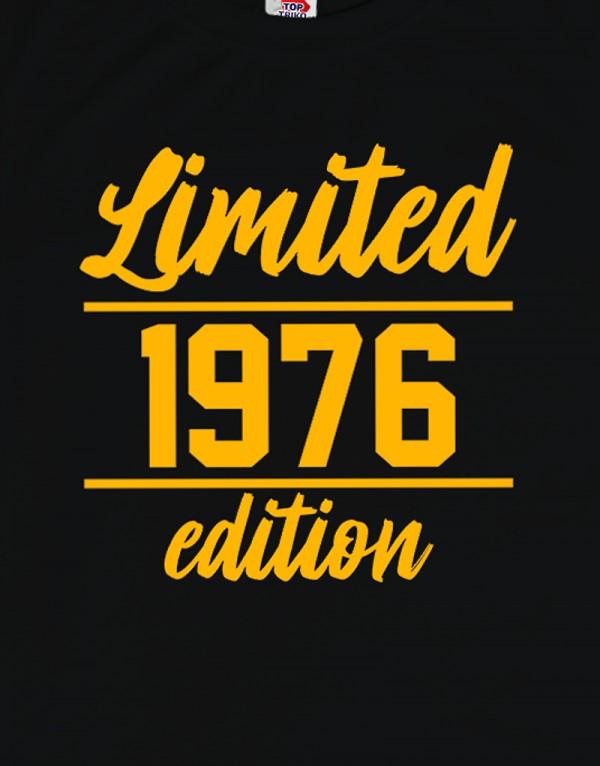 Tričko Limited edition - vlastní rok narození