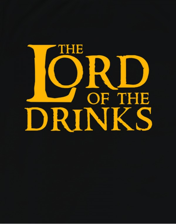 Tričko - The Lord of the Drinks