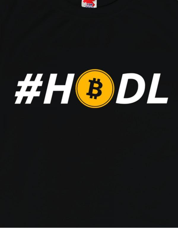 Tričko - HODL - Bitcoin