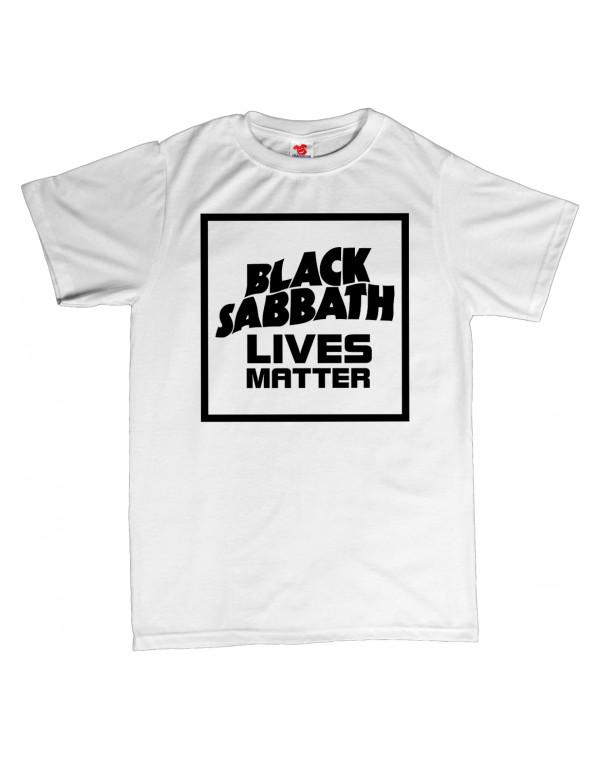Tričko - Black Sabbath lives matter