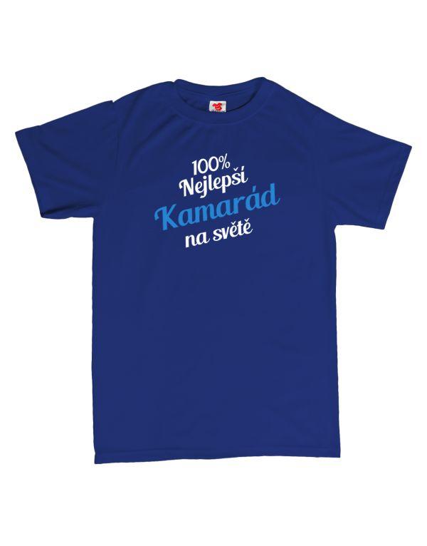 Tričko 100% nejlepší kamarád na světě