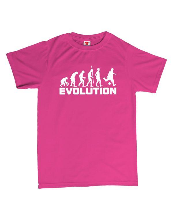 Tričko Evoluce - fotbal