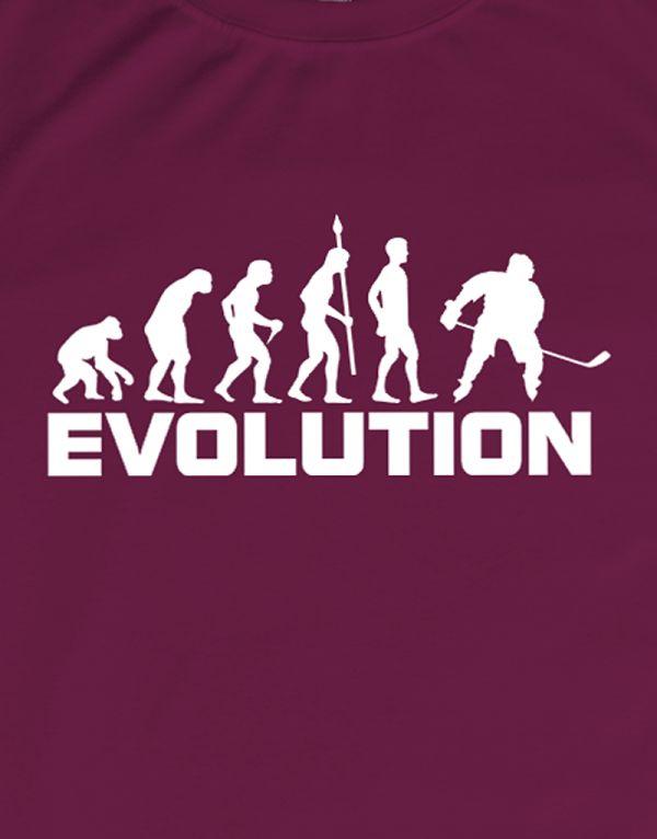 Tričko Evoluce - hokej