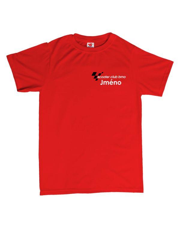 Scooter club Brno - pánské tričko