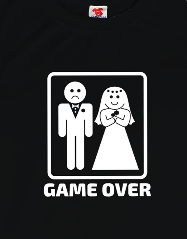 Tričko Gameover