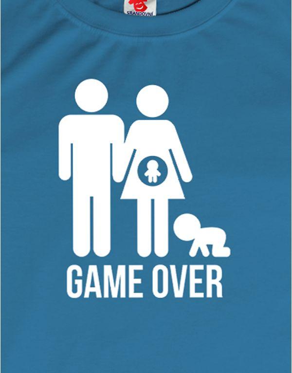 Tričko Game Over