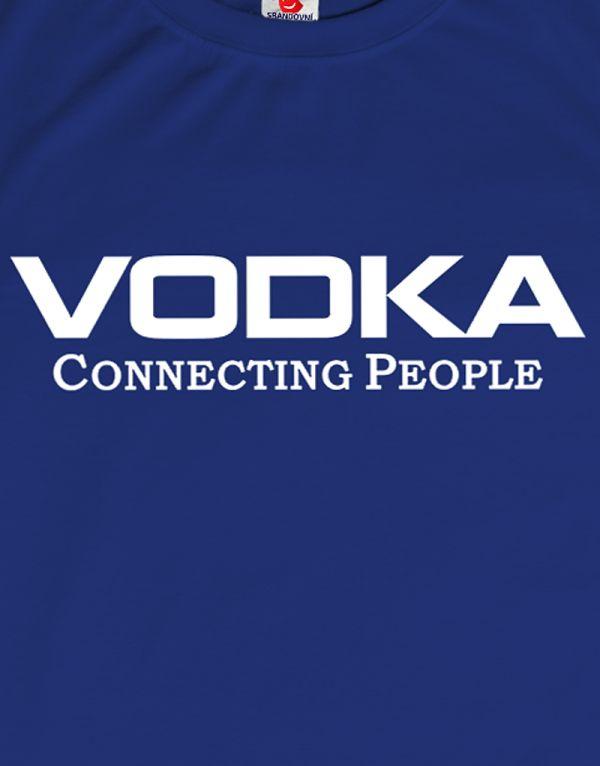 Tričko VODKA Connecting People