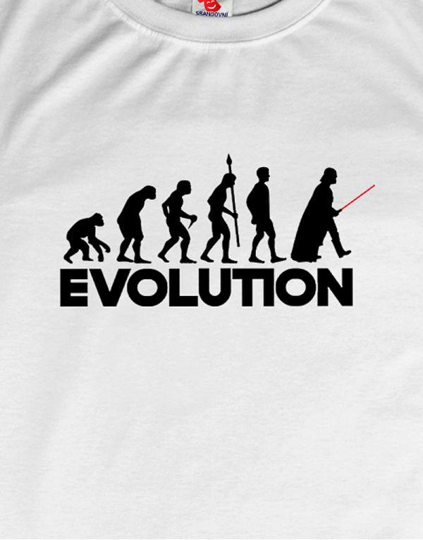 Tričko Evoluce - Darth Vader