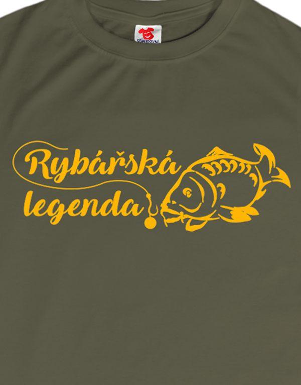 Tričko Rybářská legenda