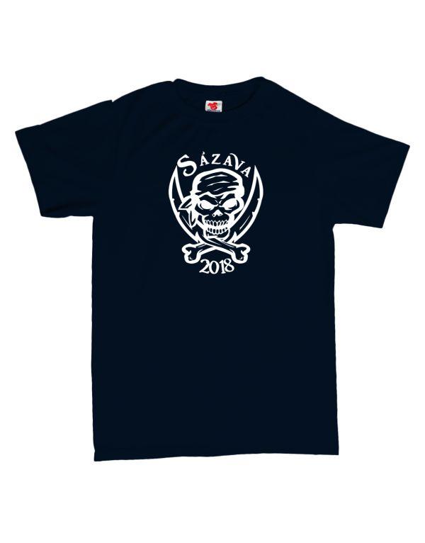 Vodácké tričko - pirát