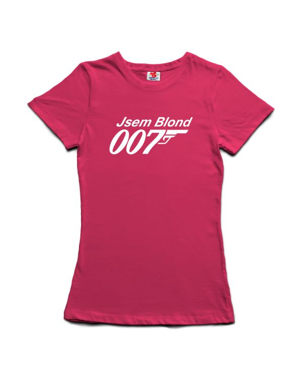 Tričko Jsem blond - Agent 007 - James Bond