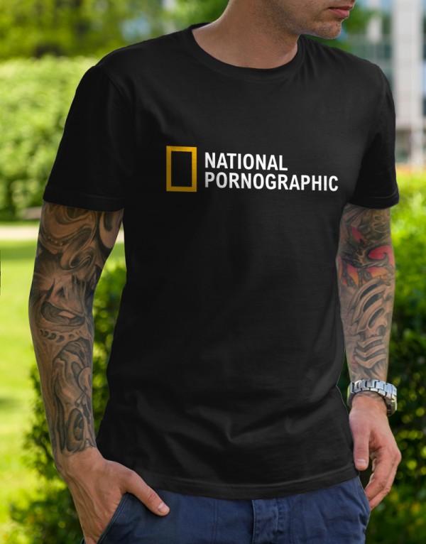 Tričko National Pornographic